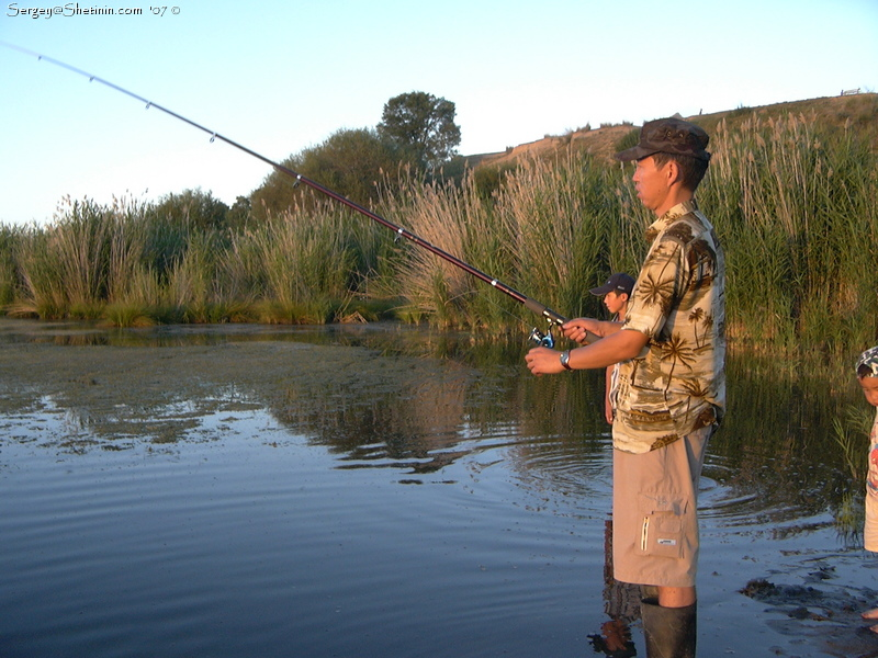 рыбалка на чинозере