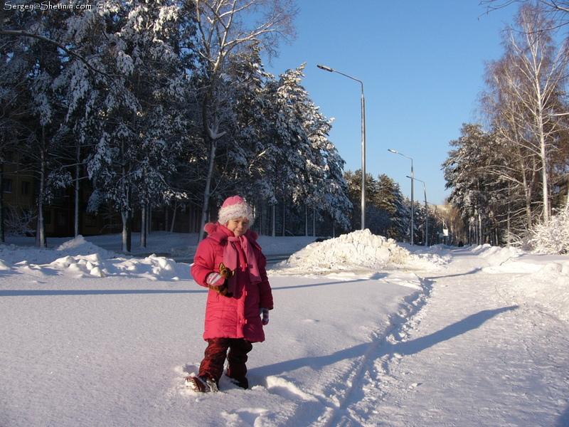 Winter in novosibirsk lyuba