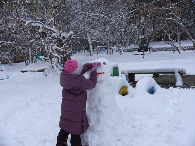 Как сделать снег липкий