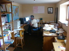 Working room (office) of Jean-Claude.